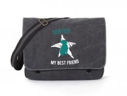 Rottweiler Canvas Tasche schwarz Dog Star
