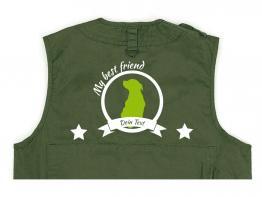Rottweiler Hundesport Weste oliv Best Friend
