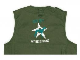 Windhund Hundesport Weste oliv Dog Star