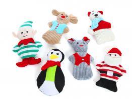 Fröhliche Weihnachtszeit Hundespielzeug