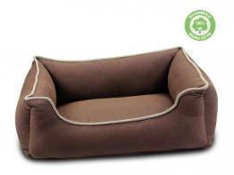 Wolters Hunde Lounge Eco-Well Hundebett braun-beige