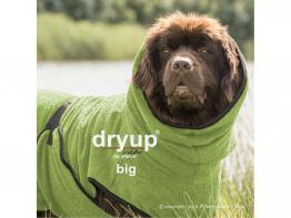 Dryup Cape Hundebademantel BIG kiwi