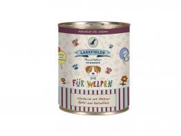 Lakefields Dosenfleisch-Menü Weiderind für Welpen 800 g