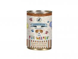 Lakefields Dosenfleisch-Menü Landhuhn für Welpen 400 g