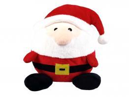 Weihnachtsmann Plüschball für Hunde