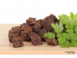 Würfelfleisch aus Rind 100gr.