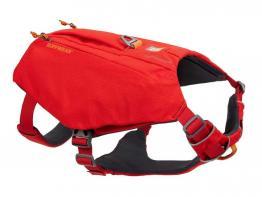 Ruffwear Switchbak Hundegeschirr mit Taschen Red Sumac