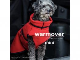 Warmover Fleece Cape Mini für Hunde red fire