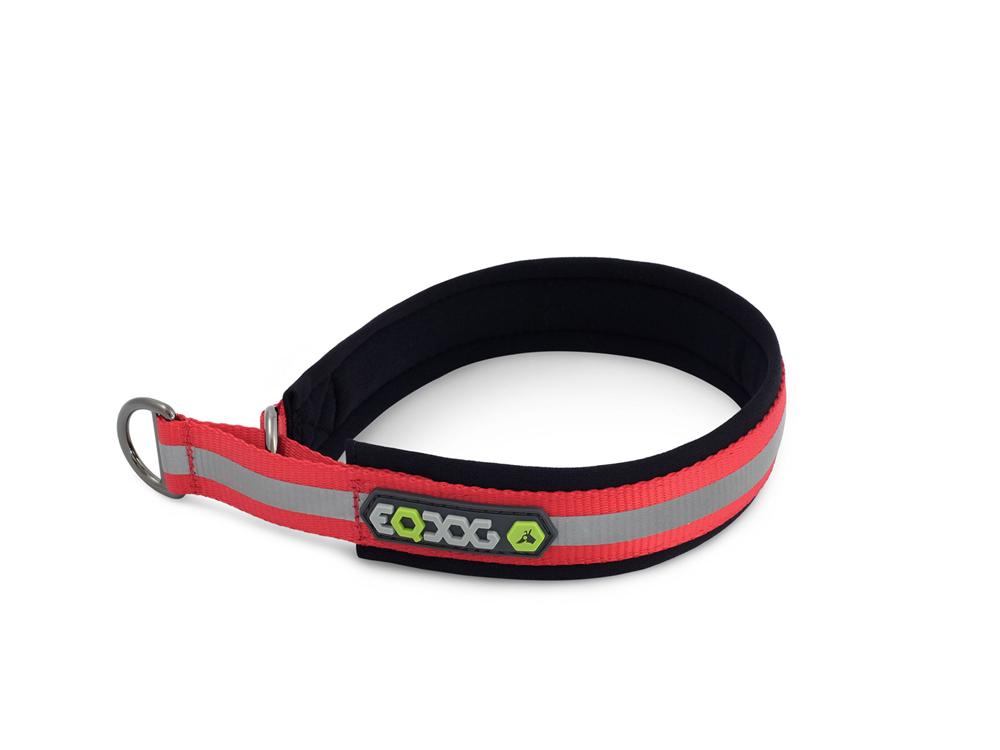 EQDOG Hundehalsband Reflective rot