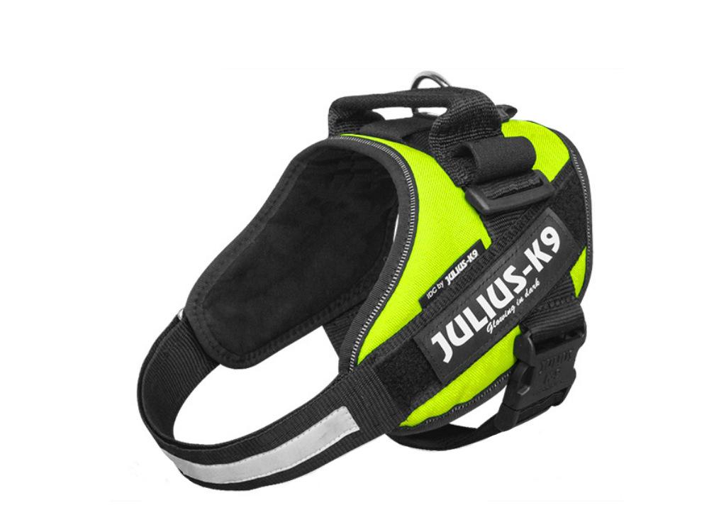 Julius K9 IDC Power Hundegeschirr neon-grün
