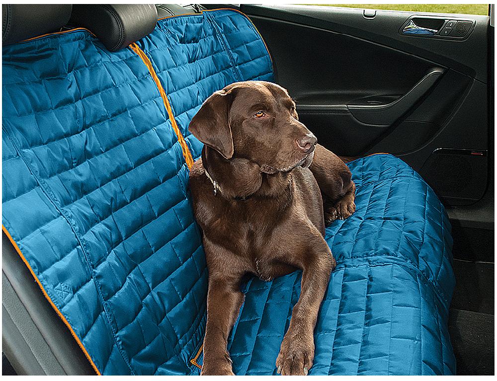 Kurgo Autoschondecke Loft Bench Seat Cover blau/orange