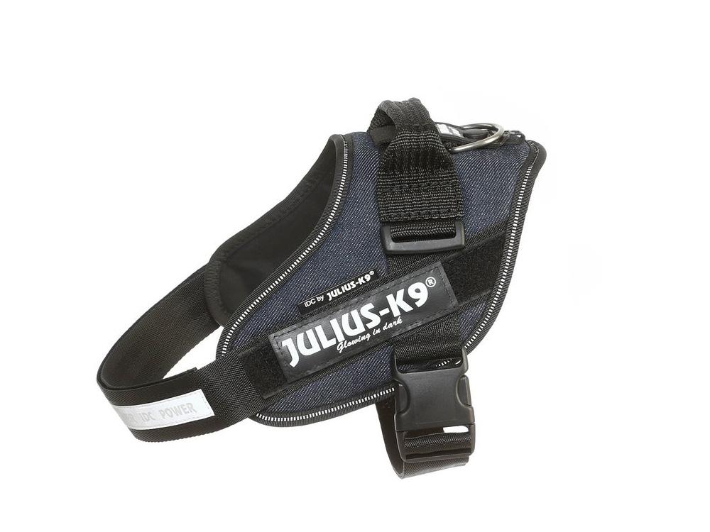 Julius K9 IDC Power Hundegeschirr Jeansstoff