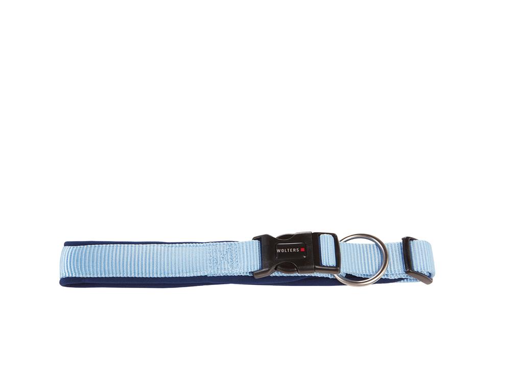 Wolters Hundehalsband Professional Comfort marine/hellblau