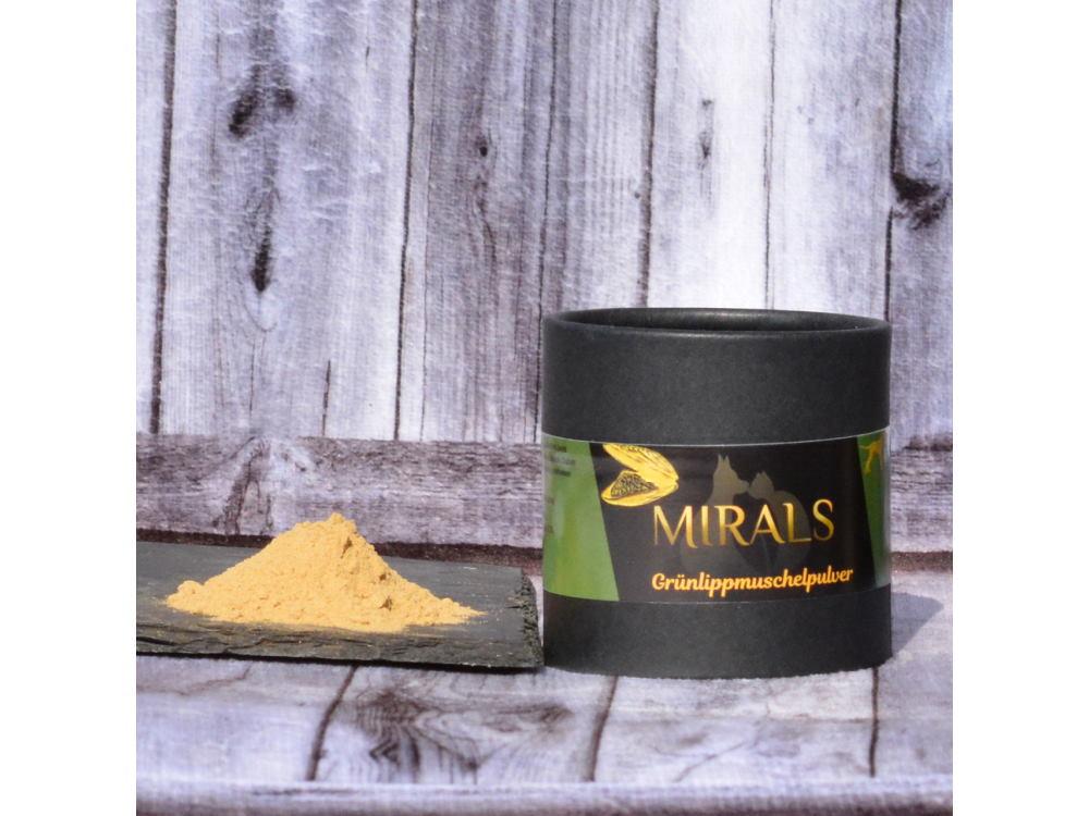 Mirals reines Grünlippmuschelpulver 100 g