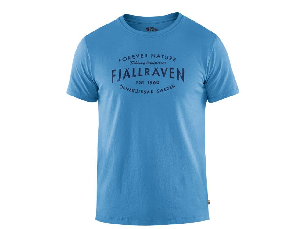 Fjäll Räven Est. 1960 T-Shirt Herren river blue
