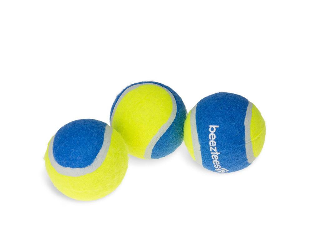 Tennisball 3-er Set ø: 6.3 cm