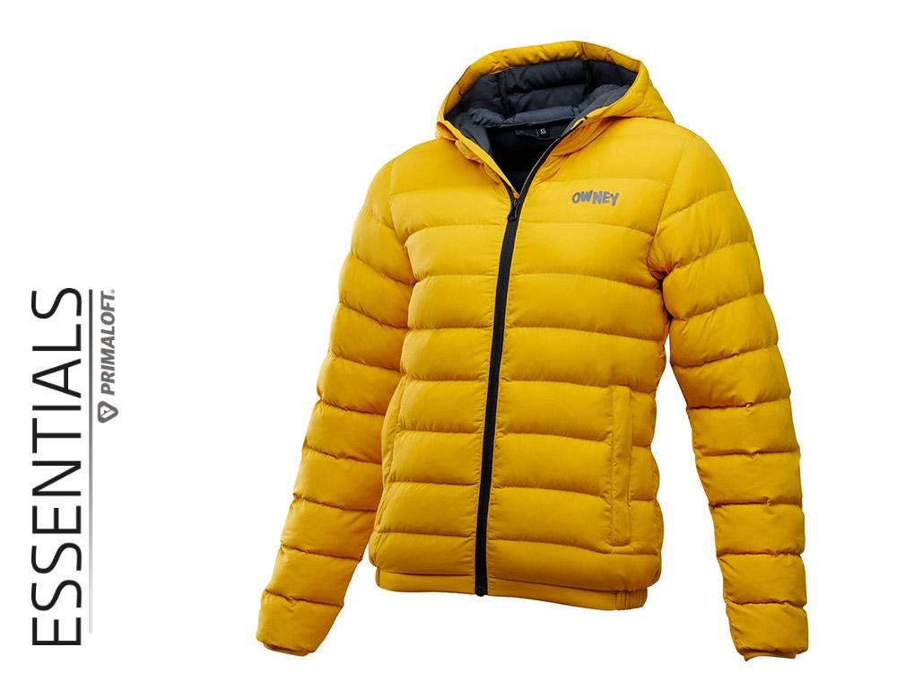 Owney Primaloft Jacket Damenjacke goldgelb
