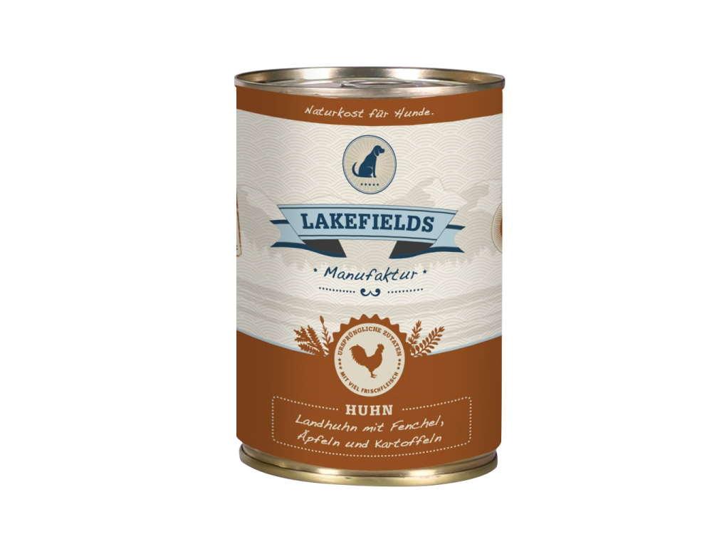 Lakefields Dosenfleisch-Menü Landhuhn