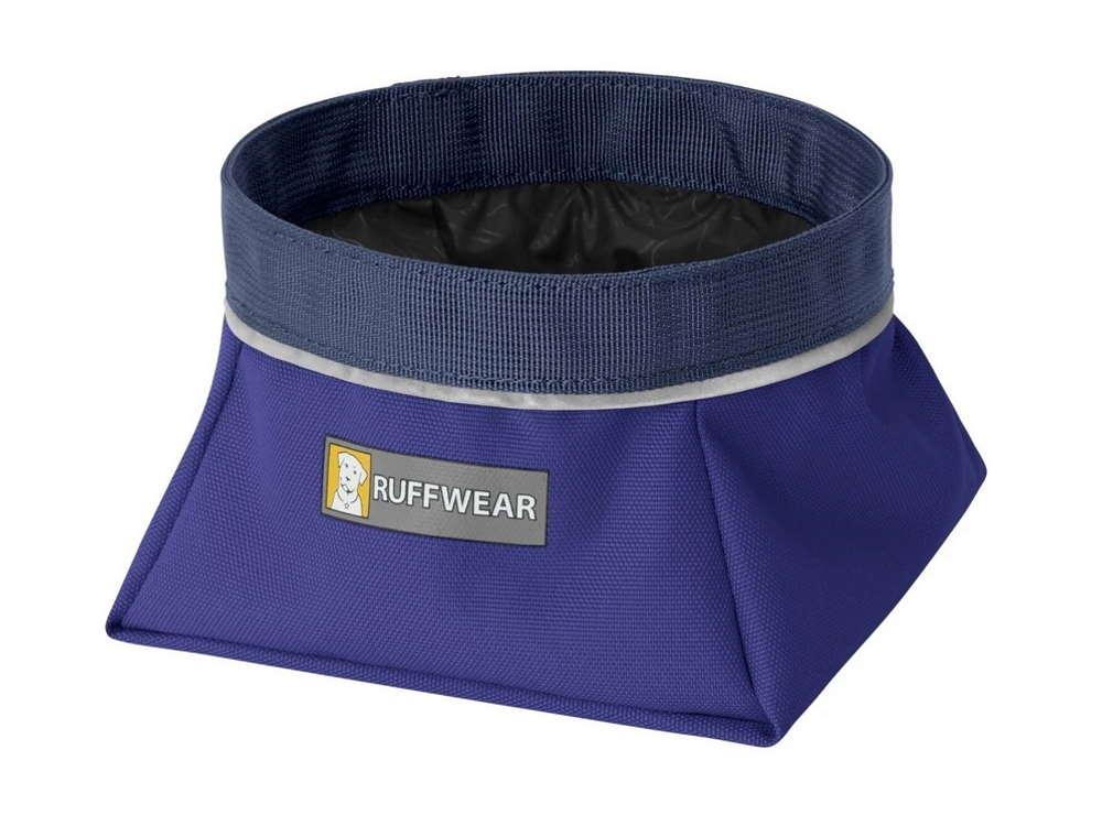 Ruffwear Quencher™ Faltnapf Hundenapf Huckleberry Blue