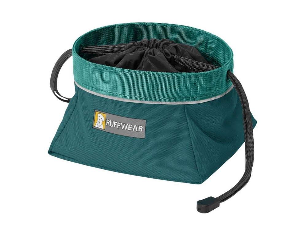 Ruffwear Quencher Cinch Top™ Faltnapf Hundenapf Tumalo Teal