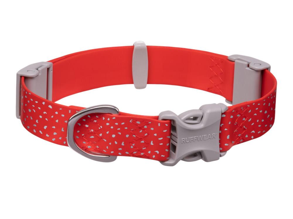 Ruffwear Confluence reflektierendes Hundehalsband Red Sumac